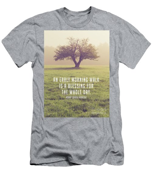 An Early Morning Walk Is A Blessing For The Whole Day 2 Men's T-Shirt (Athletic Fit)