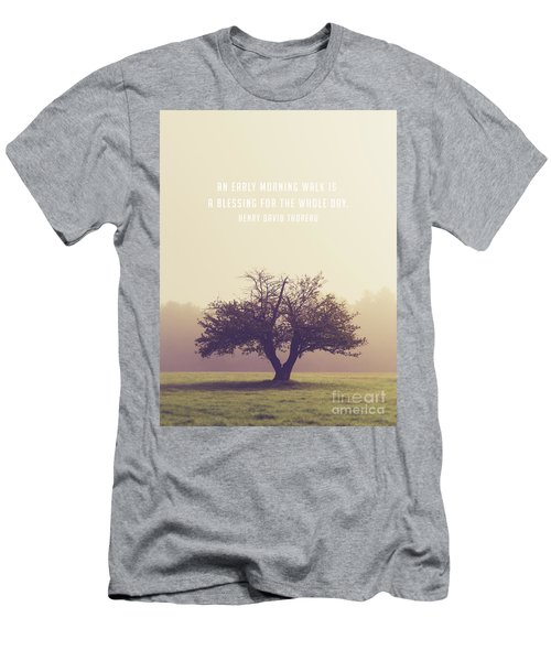 An Early Morning Walk Is A Blessing For The Whole Day Men's T-Shirt (Athletic Fit)