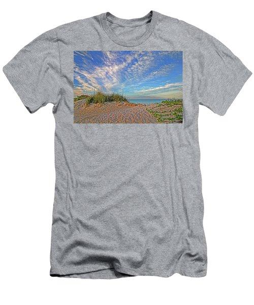 An Invitation - Florida Seascape Men's T-Shirt (Athletic Fit)