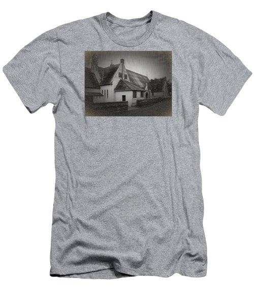 An Irish Church Men's T-Shirt (Slim Fit) by Dave Luebbert