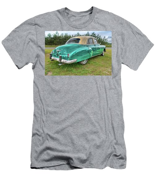 Men's T-Shirt (Athletic Fit) featuring the photograph An Old Chevy By The Road In Rural Maine by Guy Whiteley