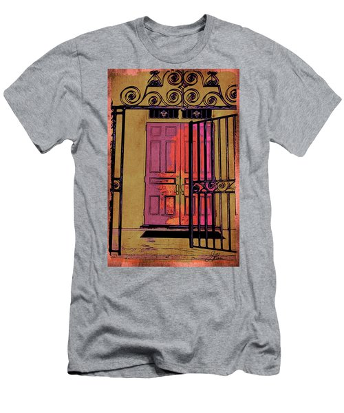 An Open Gate Men's T-Shirt (Athletic Fit)
