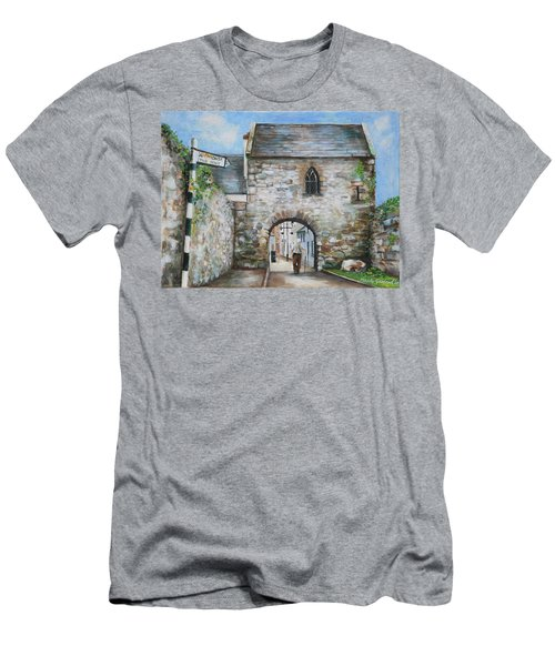 An Tholsel Men's T-Shirt (Slim Fit) by Marty Garland