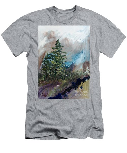 An Yosemite Afternoon Men's T-Shirt (Athletic Fit)