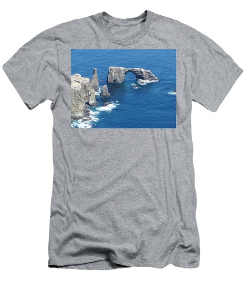 Anacapa Island Arch Rock Men's T-Shirt (Athletic Fit)