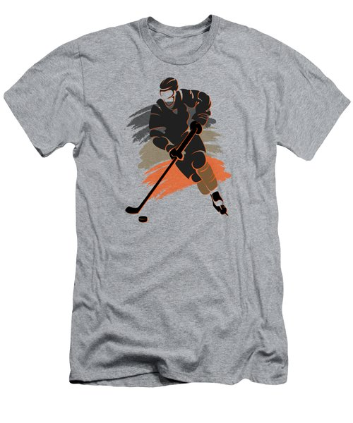 Anaheim Ducks Player Shirt Men's T-Shirt (Slim Fit) by Joe Hamilton