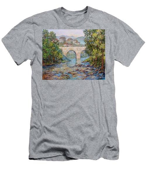 Ancient Bridge Men's T-Shirt (Athletic Fit)
