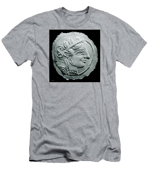 Ancient Greek Relief Seal Drawing Men's T-Shirt (Athletic Fit)