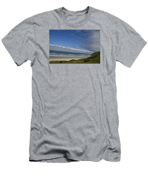 Men's T-Shirt (Slim Fit) featuring the photograph And Miles To Go  by Tom Kelly