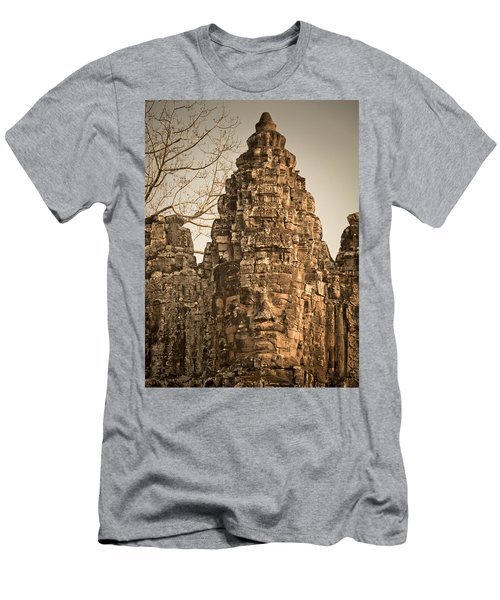 Men's T-Shirt (Athletic Fit) featuring the photograph Angkor Wat by Juergen Held