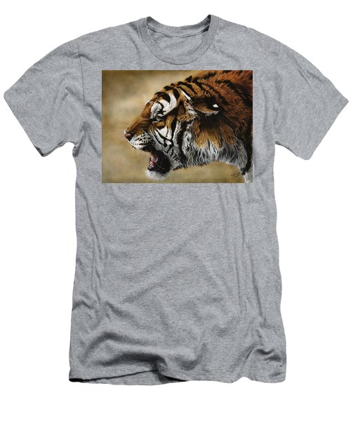 Angry Siberian Men's T-Shirt (Athletic Fit)