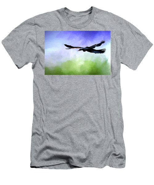 Anhinga In Flight Men's T-Shirt (Athletic Fit)