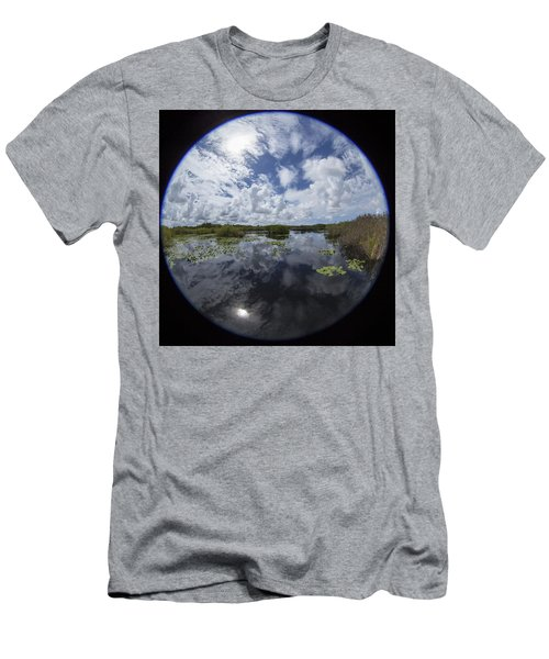 Anhinga Trail 86 Men's T-Shirt (Slim Fit) by Michael Fryd