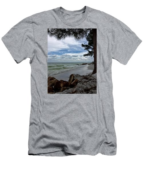 Men's T-Shirt (Slim Fit) featuring the photograph Anna Maria Island  by Jean Marie Maggi