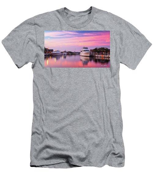 Annapolis Sunrise Men's T-Shirt (Athletic Fit)