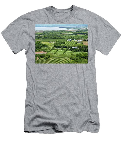 Annapolis Valley, Nova Scotia Men's T-Shirt (Athletic Fit)
