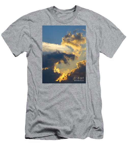 Another Beautiful Grouping Of Florida Clouds At Sunset.  Men's T-Shirt (Athletic Fit)