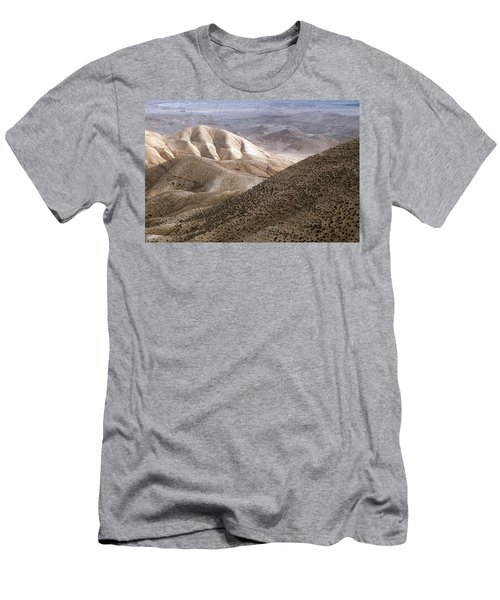 Another View From Masada Men's T-Shirt (Athletic Fit)