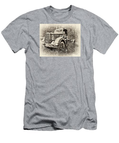 Antique 1947 Mack Truck Men's T-Shirt (Slim Fit) by Mark Allen