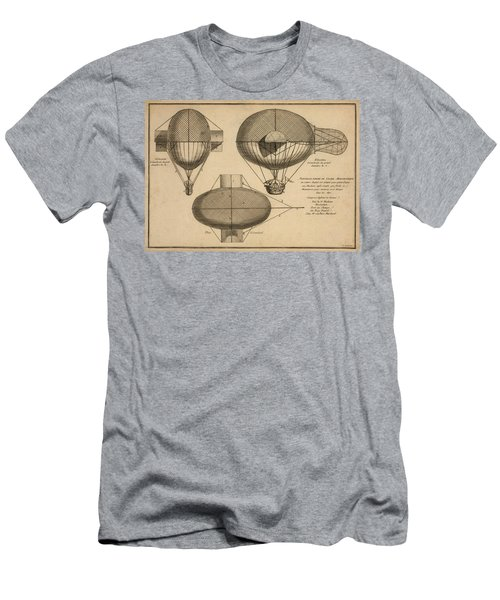 Antique Aeronautics Men's T-Shirt (Athletic Fit)