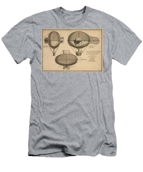 Antique Aeronautics Men's T-Shirt (Athletic Fit)