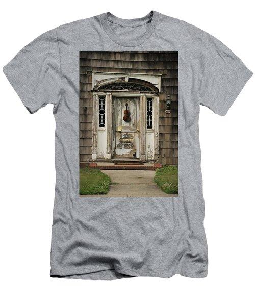 Antique Carpenter Door Men's T-Shirt (Athletic Fit)