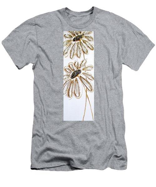 Antique Daisies Men's T-Shirt (Athletic Fit)