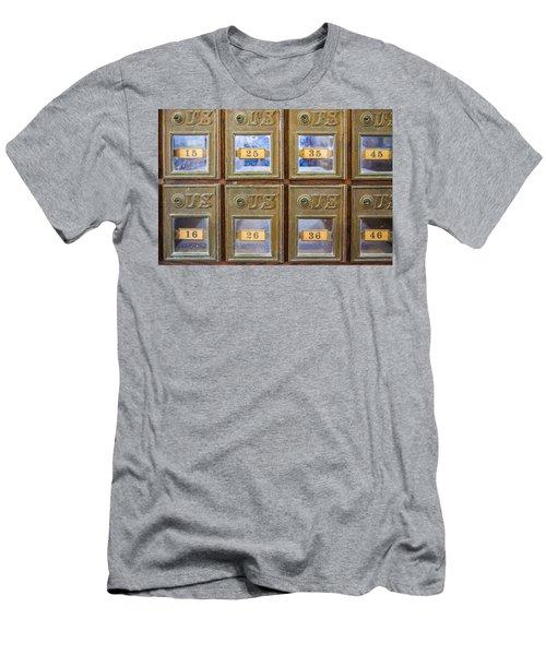 Antique Mailbox Color Men's T-Shirt (Athletic Fit)