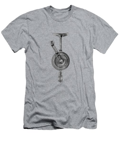 Antique Shoulder Drill Front Bw Men's T-Shirt (Slim Fit) by YoPedro