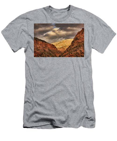 Antique Train Ride Txt Men's T-Shirt (Athletic Fit)