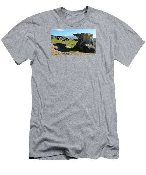 Anvil Rock Men's T-Shirt (Athletic Fit)