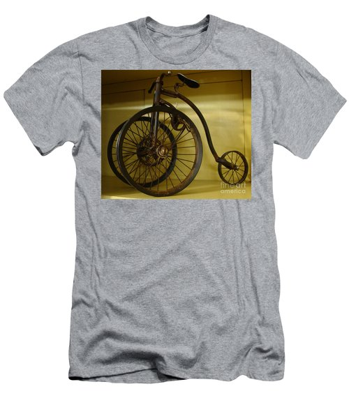 Anyone For A Bike Ride?  Men's T-Shirt (Slim Fit) by Rod Jellison