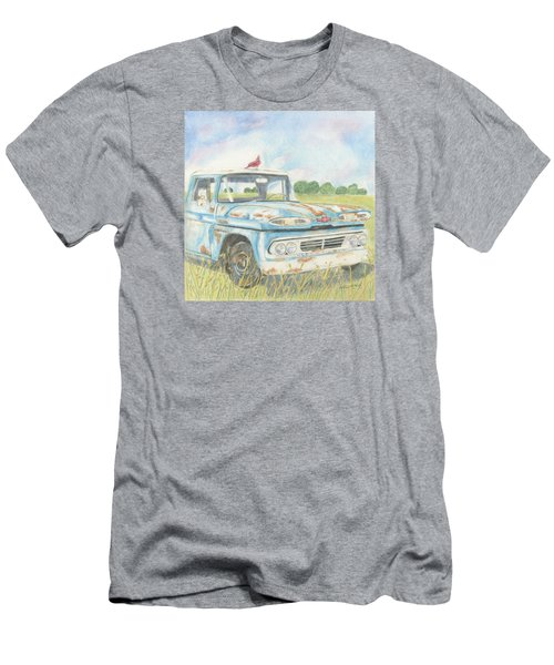 Apache Out To Pasture Men's T-Shirt (Athletic Fit)