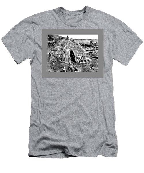 Apache Wikiup Men's T-Shirt (Athletic Fit)