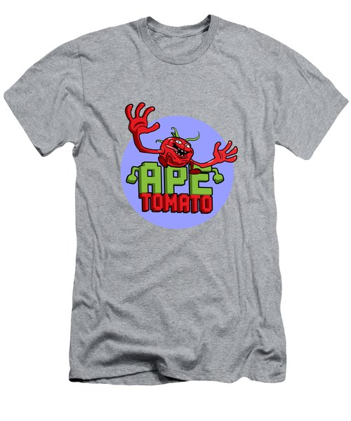 Ape Tomato Blue Purple Men's T-Shirt (Athletic Fit)