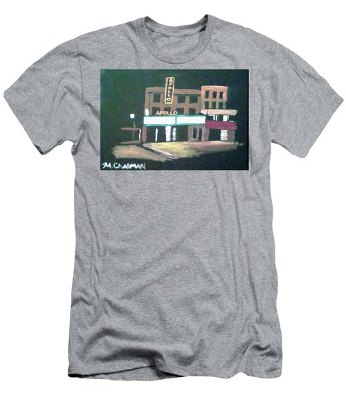 Apollo Theater New York City Men's T-Shirt (Athletic Fit)