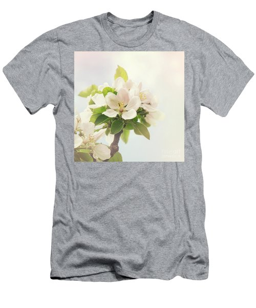 Apple Blossom Retro Style Processing Men's T-Shirt (Athletic Fit)