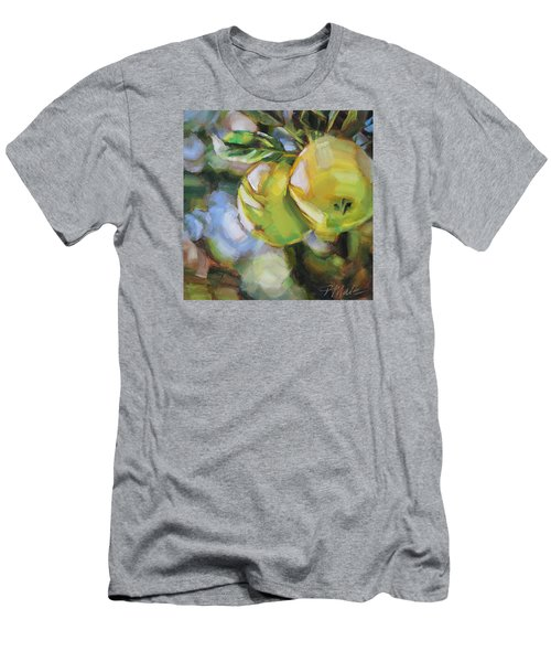 Apple Tree Men's T-Shirt (Slim Fit) by Tracy Male