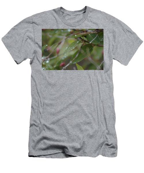 April Showers 1 Men's T-Shirt (Athletic Fit)