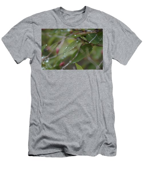 April Showers 1 Men's T-Shirt (Athletic Fit)