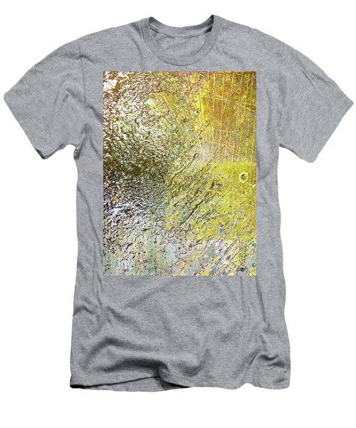 Aqua Metallic Series Fluid Men's T-Shirt (Athletic Fit)