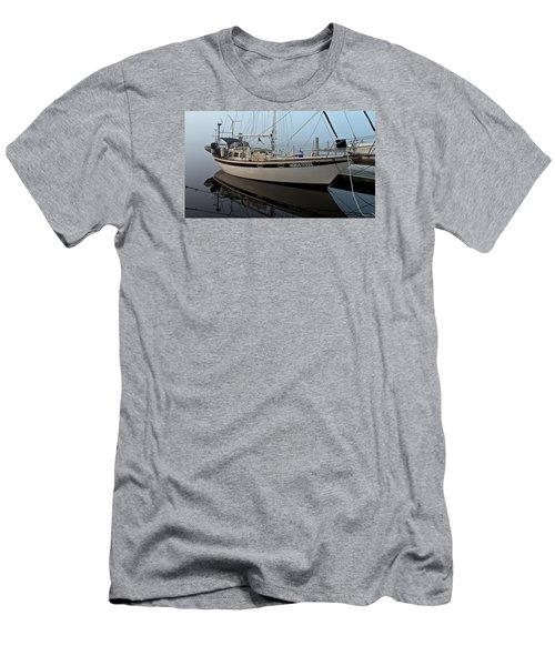 Aqua - Vita Men's T-Shirt (Slim Fit) by Laura Ragland