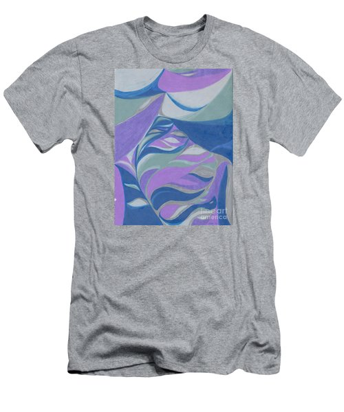 Men's T-Shirt (Slim Fit) featuring the drawing Aqueous by Kim Sy Ok