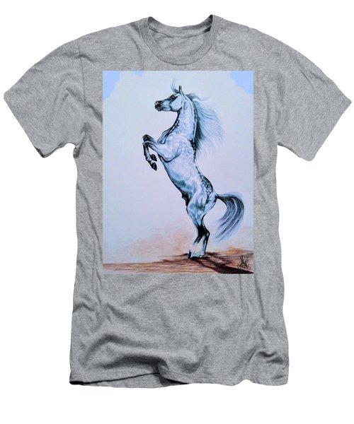 Arabian Spirit Of The South Men's T-Shirt (Slim Fit) by Cheryl Poland