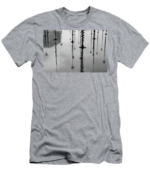 Arbres Lumineux In The Rain Paris  Men's T-Shirt (Athletic Fit)