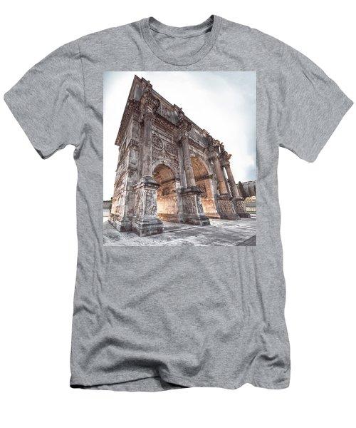 Arch Of Constantine Men's T-Shirt (Athletic Fit)