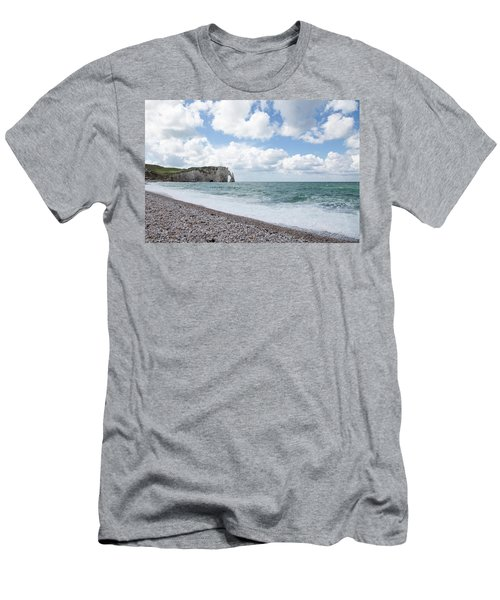 Arch At Etretat Beach, Normandie Men's T-Shirt (Athletic Fit)