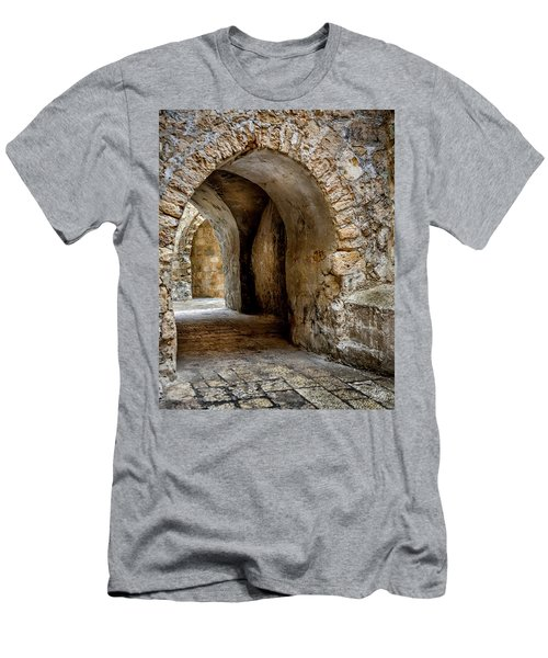 Arched Walkway Men's T-Shirt (Athletic Fit)