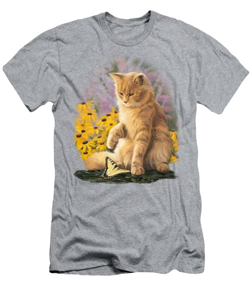 Archibald And Friend Men's T-Shirt (Slim Fit) by Lucie Bilodeau