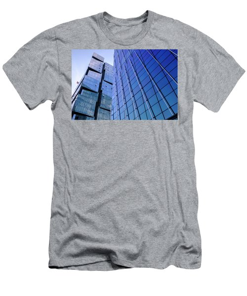 Architecture On The Streets Of Seattle Washington Men's T-Shirt (Athletic Fit)